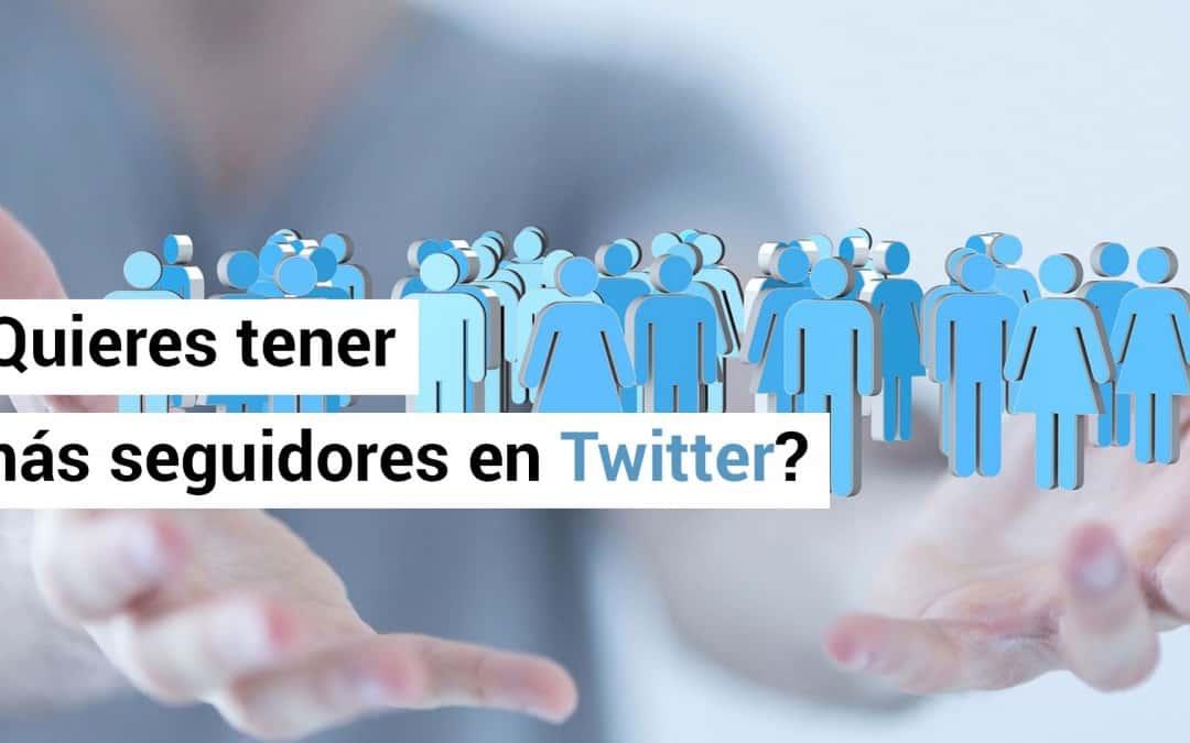 ¿No sabes como tener mas seguidores en Twitter gratis?