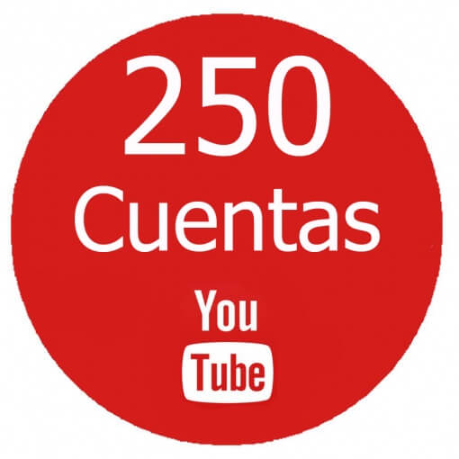 comprar-250-cuentas-youtube