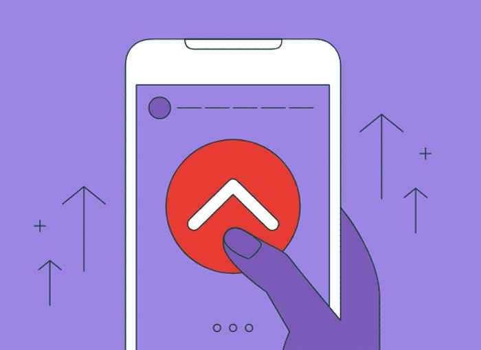 Cómo hacer Swipe Up en Instagram