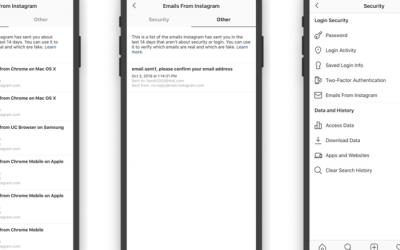 Cómo funciona «Emails from Instagram»