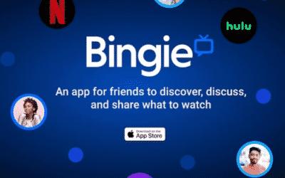 Cómo funciona Bingie, una app de recomendación de películas